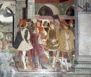 Storia della città - Immagini del popolo con abiti dell'epoca - tuscaniainfo.it